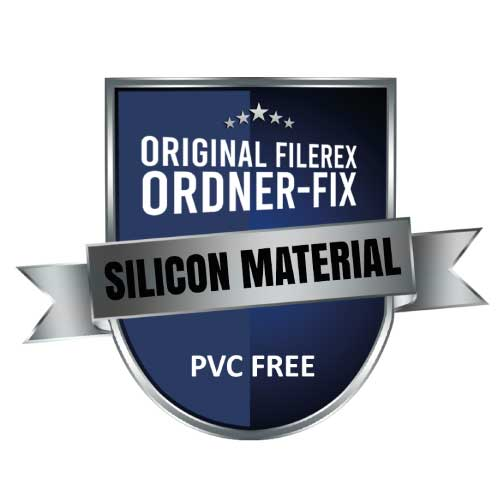 Ordner-Fix von Filerex als Alternative zu Trivtec usbfix von Filerex ohne PVC mit silicon Material