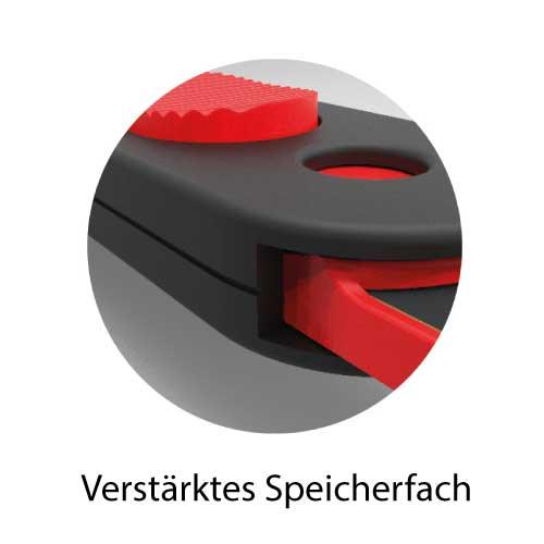 Filerex USB zum Abheften mit verstärktem Speicherfach - robust